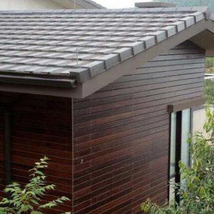 Bamboo rooftop, Bamboo siding